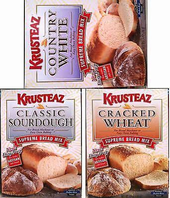 Krusteaz Supreme Artisan Style Bread Mix For Machines & Oven Baking ~ One Box