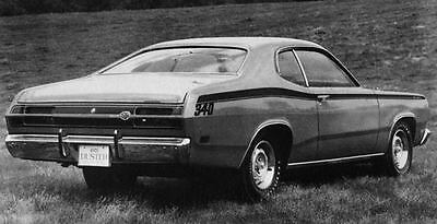 1971 Plymouth Duster 340 Coupe Factory Photo J7692