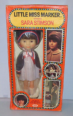 Never Removed From Box Ideal 1980 Little Miss Marker Doll / Sara Stimson