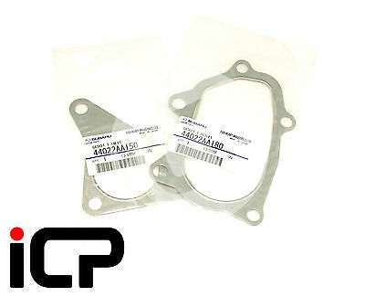GENUINE Turbo Inlet & Outlet Exhaust Gaskets 44022AA180 44022AA150 Fits Impreza