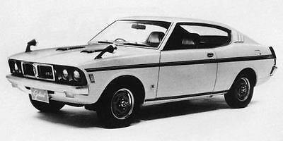 1971 Mitsubishi Colt Galant GTO MR Factory Photo J7737
