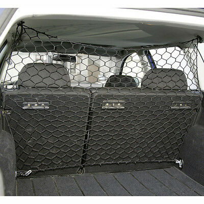 Me & My Pet Dog/cat Car/van Safety Net Guard Front/back Seat Barrier Nylon Mesh