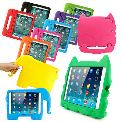 Kids Safe Thick Foam Shock Proof EVA Case Handle Cover For New iPad Air / Air 2