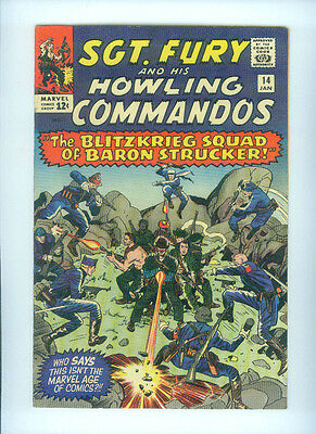 Sgt. Fury And His Howling Commandos (1965) 14  1St Appearance Blitz Squad Shield