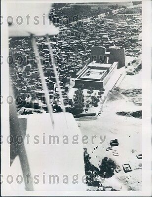 1934 Aerial Great Temple of Horus Edfu Egypt Press Photo
