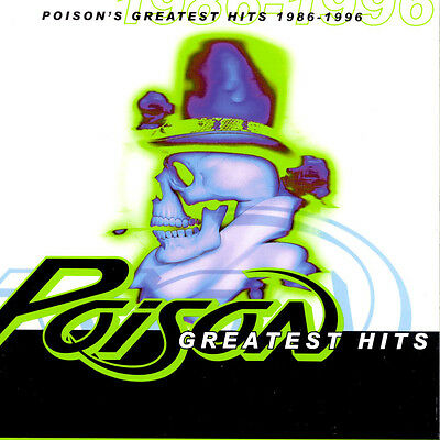 Poison ( New Sealed Cd ) Greatest Hits Collection 1986 - 1996 / Very Best Of