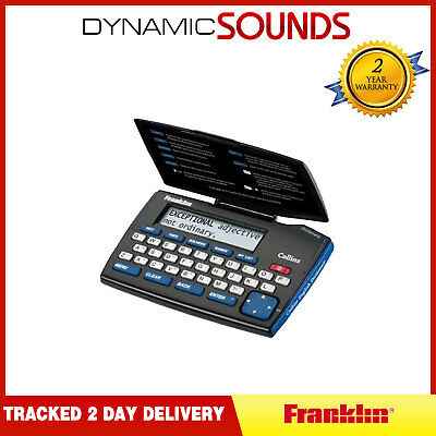 COLLINS DMQ221 Electronic Dictionary English Express Edition Thesaurus Battery