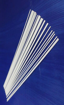 Clear Fibreglass stems, 30x20cm (Pole Float making & supplies)