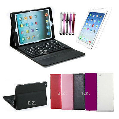 """Built-in Bluetooth Wireless Keyboard Stand Cover Case for iPad Air 1/2 Pro 9.7"""""""