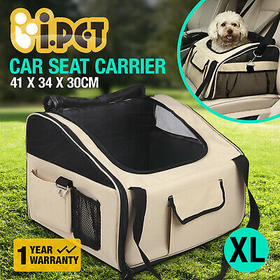 Pet Carrier Dog Cat Car Booster Seat Soft Crate Portable Cage Travel Bag XLarge