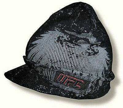 UFC BILLED BEANIE HAT/CAP MMA Ultimate Fighting Championship Licensed NEW