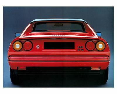 1985 1986 Ferrari 328 GTB Factory Photo c8670