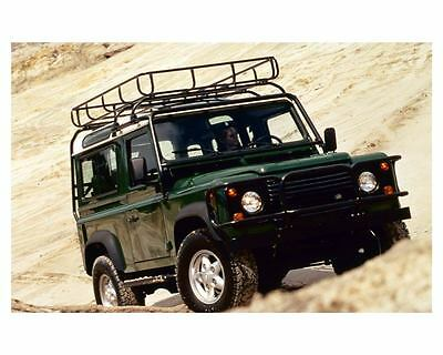 1997 Land Rover Defender 90 Hardtop Factory Photo c8729
