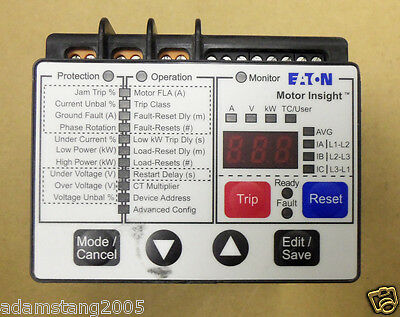 Eaton C441Bb Overload Relay Mtr Insight 240V 5-90A