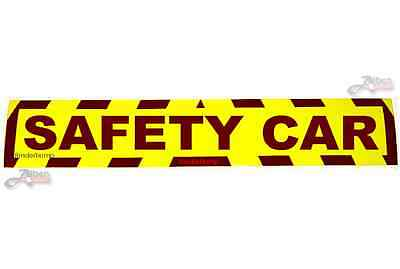 Sticker Safety Car Hi Viz Car Van Road Sign Race Danger Warning Security S040