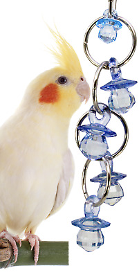 1745 CHANDALIER BIRD TOY parrot cage toys cages african grey conure cockatiel