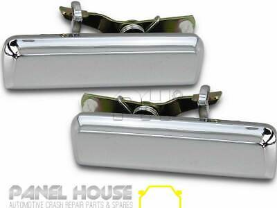 NEW Ford Falcon XD XE XF '79-'87 Outer FRONT Door Handle Pair CHROME Metal LH+RH