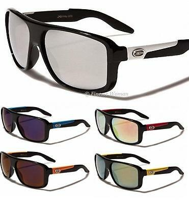 New Xloop Sports Black Sunglasses Mens Ladies Wrap Large Big Uv400 Xl539