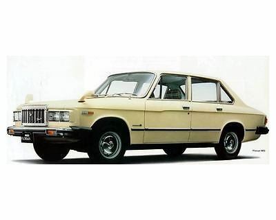 1978 Isuzu Florian Diesel Sedan Factory Photo c8812