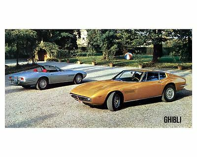 1970 Maserati Ghibli Factory Photo c8865