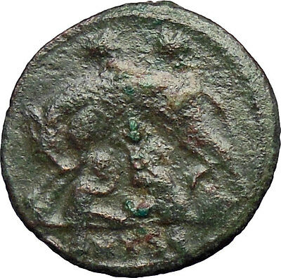 Constantine I The Great 330AD Ancient Roman Coin Romulus & Remus Wolf  i28939