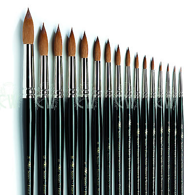 Winsor & Newton SERIES 7 Kolinsky Sable Artists Brushes. Watercolour Paint Brush