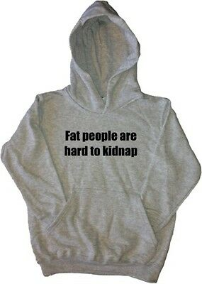 Fat People Are Hard To Kid Funny Kids Hoodie Sweatshirt