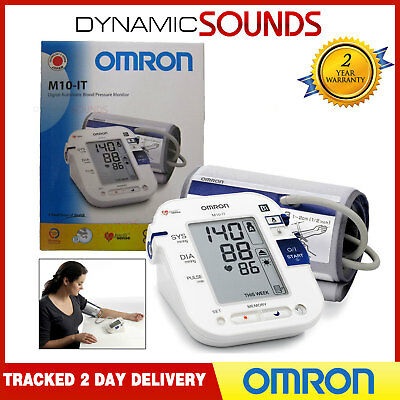 OMRON M10-IT Automatic Digital Blood Pressure Monitor Upper Arm with PC Link