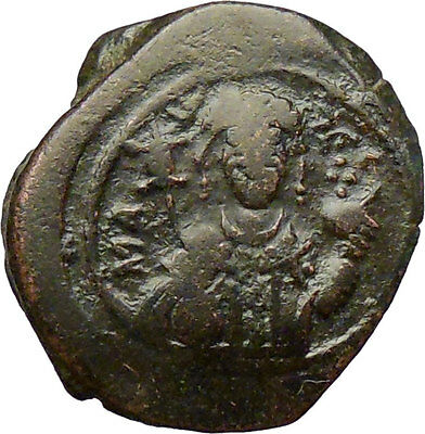 Manuel I, Comnenus 1143AD Ancient Medieval Byzantine Coin St. George  i28859
