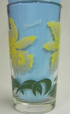 Orchid Peanut Butter Glass Glasses Drinking Kitchen Mauzy 77-5