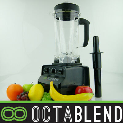 LOGIK OCTABLEND Commercial Bar Blender Ice Crusher Smoothie Juicer 2L VORTEX Jug
