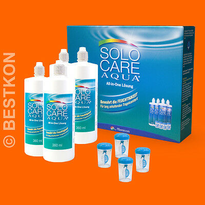 (2,32 EUR / 100 ml) SOLO CARE AQUA Systempack - 4x360ml