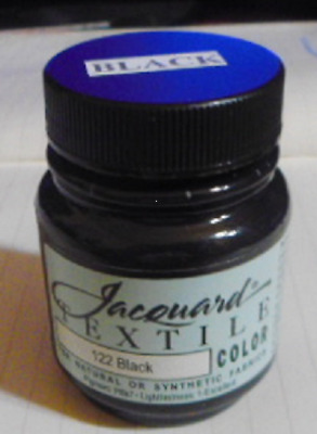 'black ' Natural Or Synthetic Fabric Paint