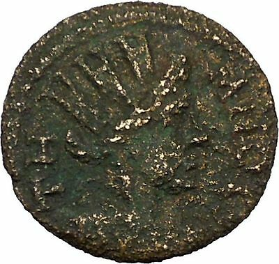 TEMNOS in AIOLIS Rare Possibly Unpublished 50AD Tyche Greek Coin i35245