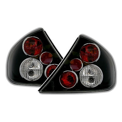 Ford Mondeo Mk2 Hatchback 1996-2000 Black Lexus Rear Tail Lights Lamps Pair New