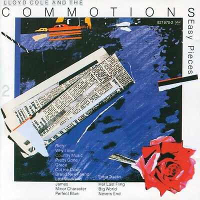 Lloyd Cole & The Commotions - Easy Pieces - audio cassette tape