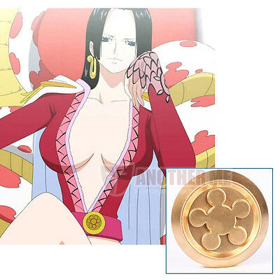 New Another Me Anime Cosplay ONE PIECE Boa Hancock Golden Waist ornaments Hot!