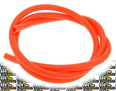 Durite essence 4mm x 1m orange - jetski - moto-scooter - SIFAM
