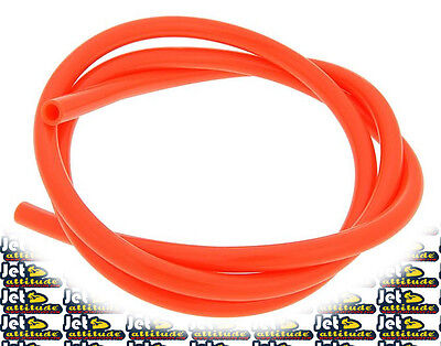 Durite essence orange SIFAM - Diamètre : 4mm (primer) - Longueur : 1m