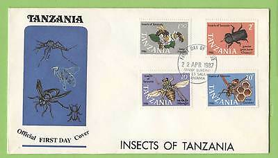 Tanzania 1987 Insects set First Day Cover