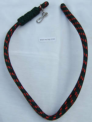 Yorkshire Regiment Officer's Lanyard -  Green, Black & Red Lanyard