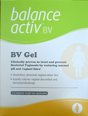 2 x Balance Activ BV Gel (7 applications) **For Bacterial Vaginosis**
