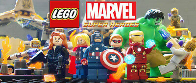 LEGO MINIFIGURES SUPER HEROES MARVEL