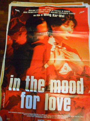 "Locandina Film ""in The Mood For Love"" Di Wong Kar-Wai / F.to 140X100"