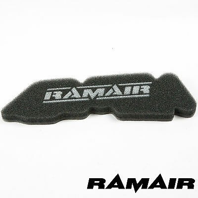 RAMAIR Twin Layer Replacement Panel Air Filter Race Foam for Derbi GP1 OPEN 50