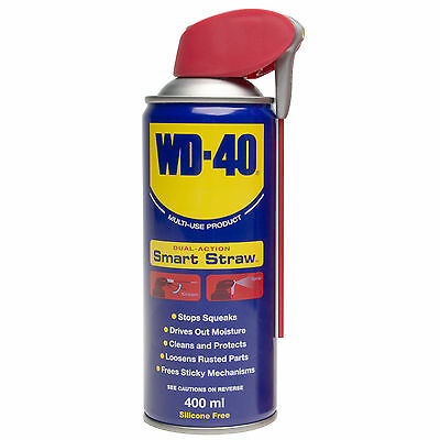 WD40 Water Displacement Lube Maintainance Smart Straw 400ML Rust Corrosion