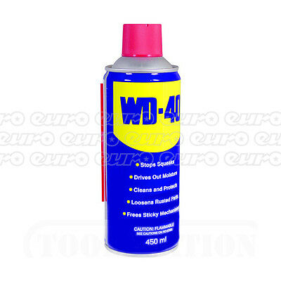 WD40 Water Displacement Lube Maintainance 400ML Spray  Rust Corrosion