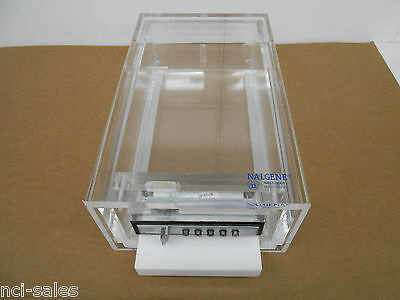 Nalgene #6851-0001 Acrylic Beta Stackable Lock Box