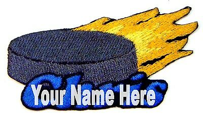 Iron-on Hockey Patch With Name Personalized Free