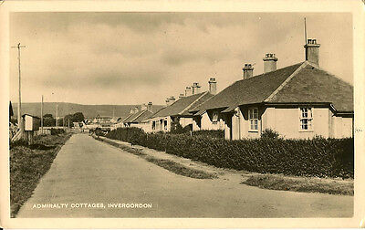INVERGORDAN( Scotland) : Admiralty Cottages RP-M & L - POST OFFICE MARITIME MAIL